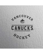Vancouver Canucks Black Text HP Envy Skin