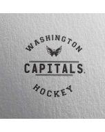 Washington Capitals Black Text iPhone 8 Pro Case