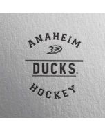 Anaheim Ducks Black Text Apple AirPods 2 Skin