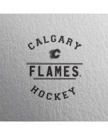 Calgary Flames Black Text Amazon Echo Skin