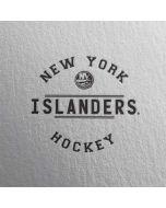 New York Islanders Black Text Apple AirPods 2 Skin