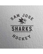San Jose Sharks Black Text iPhone 6/6s Skin