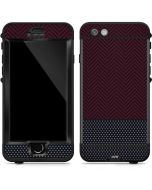 Blocked Polka Dot Chevron LifeProof Nuud iPhone Skin