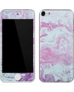Blue and Purple Marble Apple iPod Skin