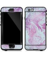 Blue and Purple Marble LifeProof Nuud iPhone Skin