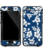 Blue and White LifeProof Nuud iPhone Skin