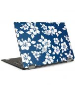 Blue and White Dell XPS Skin
