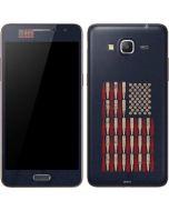 Blue Bullet American Flag Galaxy Grand Prime Skin