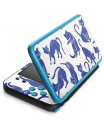 Blue Cats 2DS XL (2017) Skin