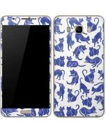 Blue Cats Galaxy J7 Skin