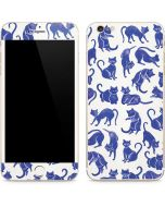 Blue Cats iPhone 6/6s Plus Skin
