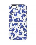 Blue Cats iPhone 6 Pro Case
