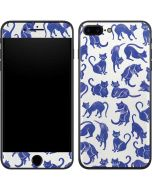 Blue Cats iPhone 7 Plus Skin