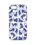 Blue Cats iPhone 7 Pro Case