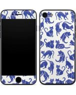 Blue Cats iPhone 7 Skin