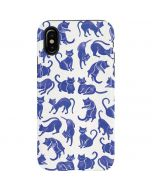 Blue Cats iPhone X Pro Case