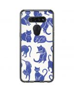 Blue Cats LG K51/Q51 Clear Case