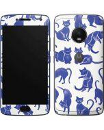 Blue Cats Moto G5 Plus Skin