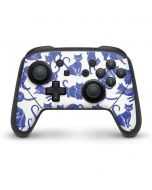 Blue Cats Nintendo Switch Pro Controller Skin