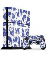 Blue Cats PS4 Console and Controller Bundle Skin