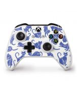 Blue Cats Xbox One S Controller Skin