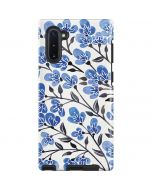 Blue Cherry Blossoms Galaxy Note 10 Pro Case