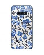 Blue Cherry Blossoms Galaxy S10e Skin