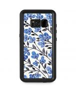 Blue Cherry Blossoms Galaxy S8 Plus Waterproof Case