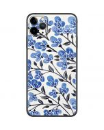 Blue Cherry Blossoms iPhone 11 Pro Max Skin