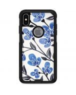 Blue Cherry Blossoms Otterbox Commuter iPhone Skin