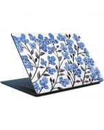 Blue Cherry Blossoms Surface Laptop Skin