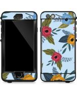Blue Fall Flowers LifeProof Nuud iPhone Skin