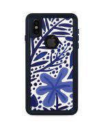 Blue Garden iPhone X Waterproof Case