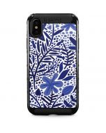 Blue Garden iPhone XS Max Cargo Case