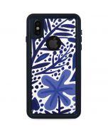 Blue Garden iPhone XS Waterproof Case