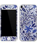 Blue Garden Apple iPod Skin