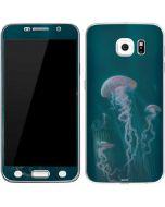 Blue Jellyfish Galaxy S6 Skin
