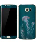 Blue Jellyfish Galaxy S7 Edge Skin