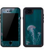 Blue Jellyfish iPhone 7 Waterproof Case