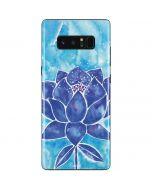 Blue Lotus Galaxy Note 8 Skin