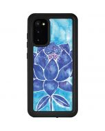 Blue Lotus Galaxy S20 Waterproof Case