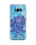 Blue Lotus Galaxy S8 Plus Skin