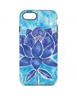 Blue Lotus iPhone 8 Pro Case