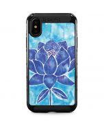 Blue Lotus iPhone X Cargo Case