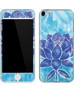 Blue Lotus Apple iPod Skin