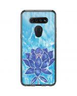 Blue Lotus LG K51/Q51 Clear Case