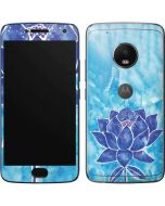 Blue Lotus Moto G5 Plus Skin