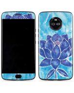 Blue Lotus Moto X4 Skin