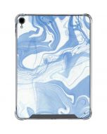 Blue Marbling iPad Pro 11in (2018-19) Clear Case