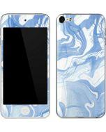 Blue Marbling Apple iPod Skin
